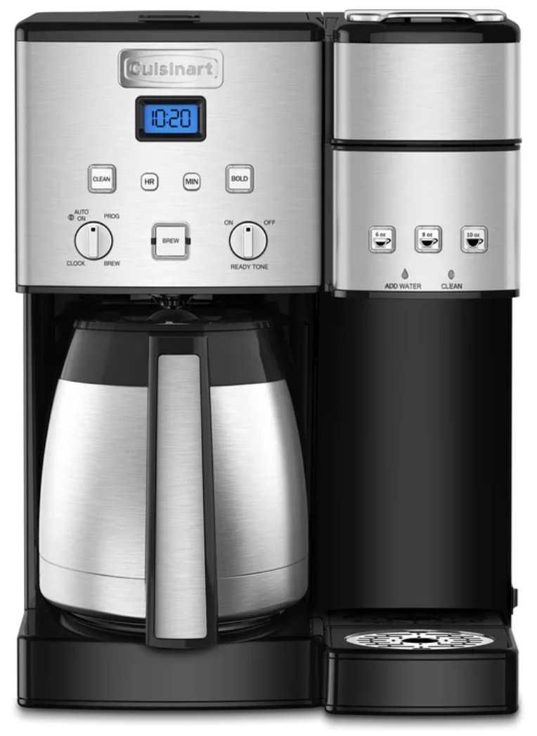 Cuisinart 10-cup coffeemaker (Photo: Wayfair)