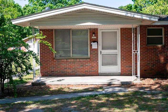 Andrew Brown Jr. grew up in this apartment at 1213 Shiloh Street in Elizabeth City, N.C. He lost his life less than a mile away on Perry Street at the hands of Pasquotank County deputies that were serving an arrest warrant
