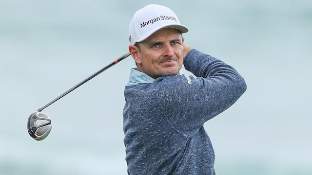 Not even a little rain could disrupt the best practice session of Justin Rose's life. Ahead of next week's Open Championship, Rose weathered the rain to get in some prep at Royal Portrush.