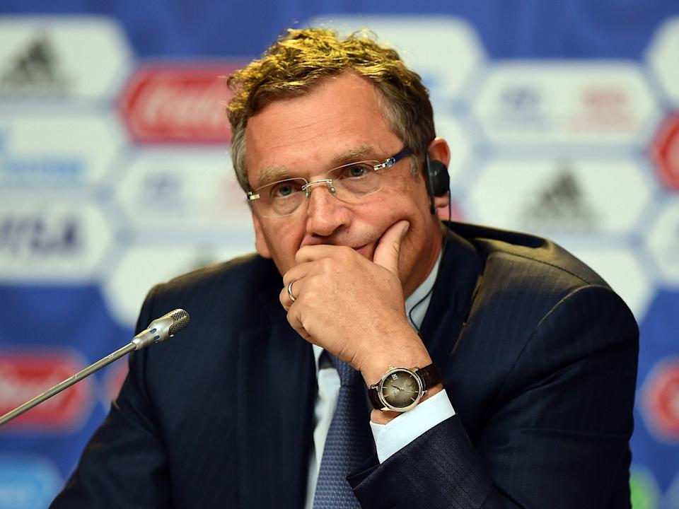 <p>Former Fifa General Secretary Jerone Valcke is serving a 10-year ban from football</p>Getty