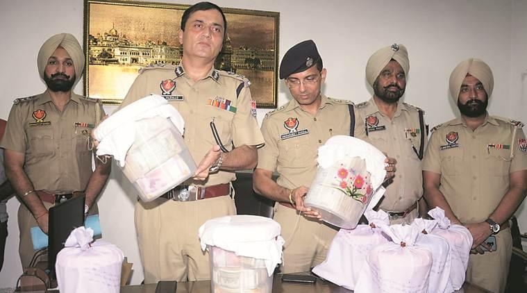 Punjab Police, Punjab Police drug haul, Punjab drug haul, Punjab drug problem, drug problem in Punjab, India news, Indian Express