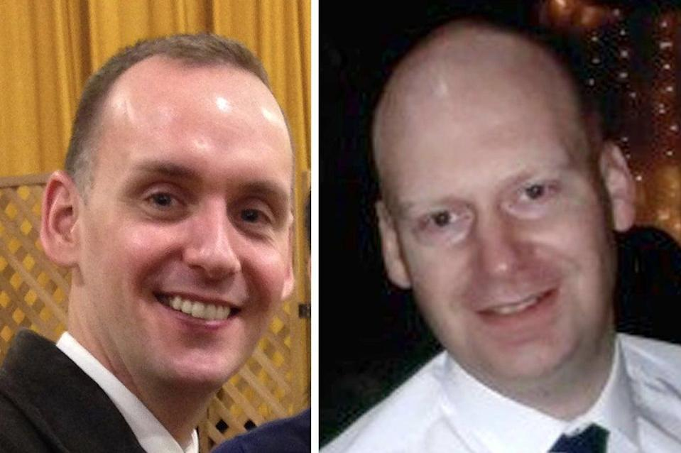 Joe Ritchie-Bennett, James Furlong and David Wails were pronounced dead at the scene (Thames Valley Police/PA)
