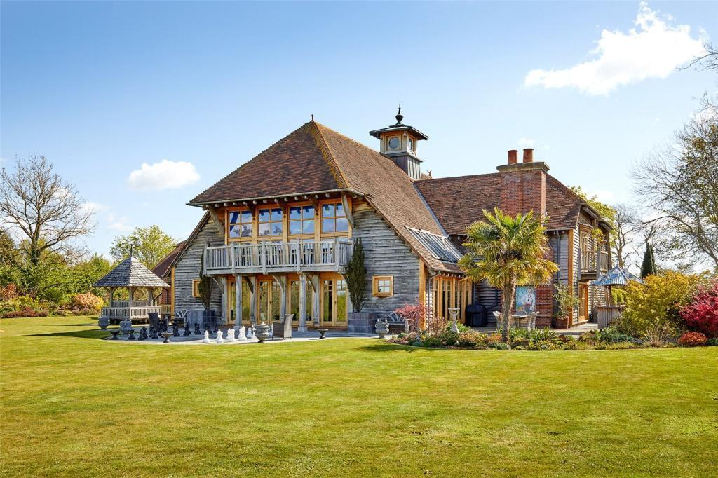 The Treasure Island-inspired mansion is up for sale for £4million (RightMove)