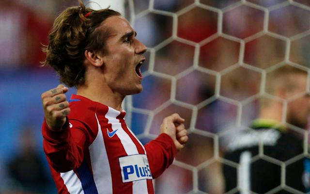 <span>Antoine Griezmann was a constant menace in Madrid on Wednesday night</span> <span>Credit: REUTERS </span>