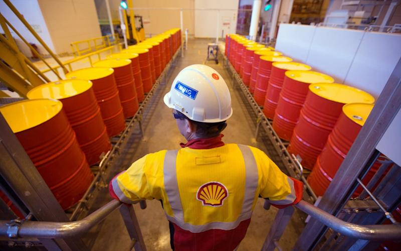 Royal Dutch Shell is set to produce its highest level of earnings since the oil market collapsed two years ago - Bloomberg News