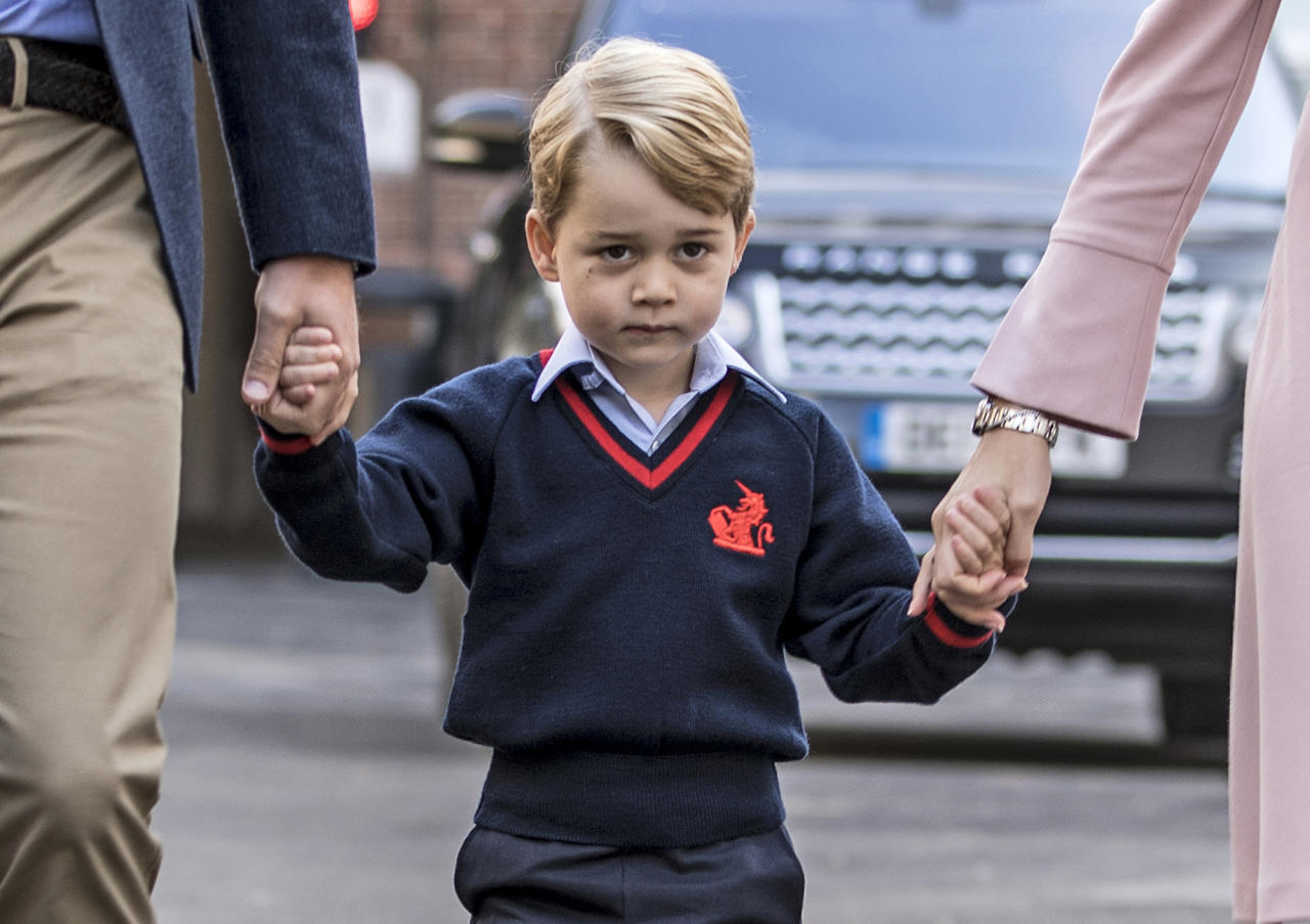 Many happy returns of the day, Prince George!