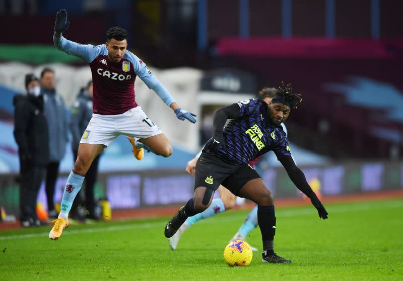 Premier League - Aston Villa v Newcastle United