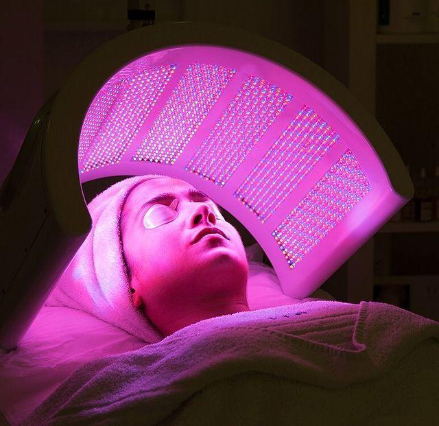 """<p>If you associate facials with a mix of creams, gels, peels and pricking, then think again. LED light therapy is an increasingly popular treatment used to replenish to revitalise skin – and EF Medispa are leaders in the field. It's a non-invasive process, so if you're against chemicals and needles then this should appeal. Different frequencies of light address different concerns, be it acne, dry, sun damage or sagging skin. An extremely thorough consultation will help you decide what type of treatment you need, after which you'll leave with a prescription of what steps you need to take next in terms of your skin. The LED Luminous Lift, a deeply relaxing treatment, can either be done on its own or part of a wider, more traditional massage-based facial, and we'd certainly recommend reaping the benefits of a combination of the two. We went for 20-30 minutes of LED light exposure teamed with a 45-minute more conventional creamy, massage-based facial. Your skin will be left feeling plumper, soft and glowing.</p><p><a href=""""https://efmedispa.com/light-treatments"""" rel=""""nofollow noopener"""" target=""""_blank"""" data-ylk=""""slk:EF Medispa"""" class=""""link rapid-noclick-resp"""">EF Medispa</a>, 193 King's Rd, Chelsea, SW3 5EB, £150 for 45 minutes</p><p><a href=""""https://www.instagram.com/p/BYswv9rBoqH/?taken-by=efmedispa"""" rel=""""nofollow noopener"""" target=""""_blank"""" data-ylk=""""slk:See the original post on Instagram"""" class=""""link rapid-noclick-resp"""">See the original post on Instagram</a></p>"""