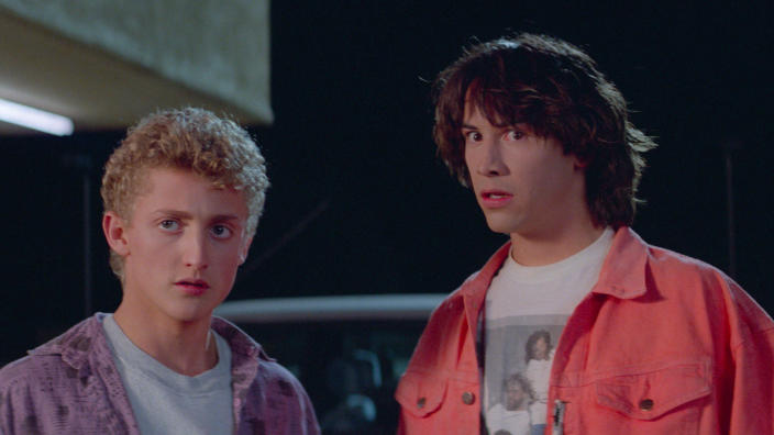'Bill & Ted's Excellent Adventure'. (Credit: Studiocanal)
