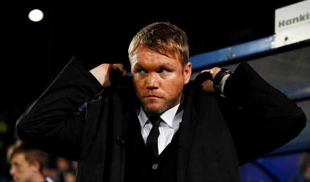 Soccer Football - FA Cup First Round Replay - Tranmere Rovers vs Peterborough United - Prenton Park, Birkenhead, Britain - November 15, 2017 Peterbrough United's manager Grant McCann Action Images/Jason Cairnduff