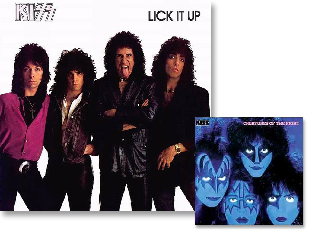 After releasing 10 albums, Kiss felt it was time to do something special for the cover of their 11th set, Lick It Up, so they took off their makeup. They even appeared on MTV without their trademark face paint. Though their longtime mystery had been solved, it didn't stop their momentum. They've released 8 albums since and will drop, Monster, on October 8.