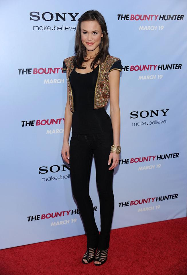 "Kalyn Hemphill at the New York City premiere of <a href=""http://movies.yahoo.com/movie/1810129411/info"">The Bounty Hunter</a> - 03/16/2010"