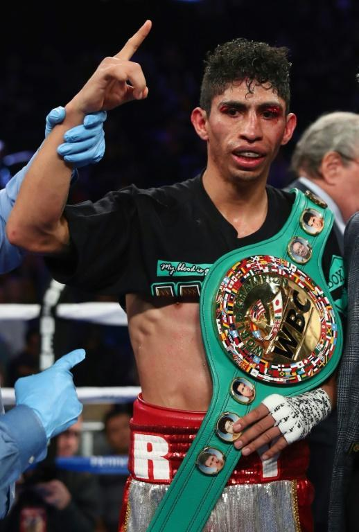 World Boxing Council super bantamweight champion Rey Vargas of Mexico defends his crown Saturday against Japan's Tomoki Kameda (AFP Photo/AL BELLO)