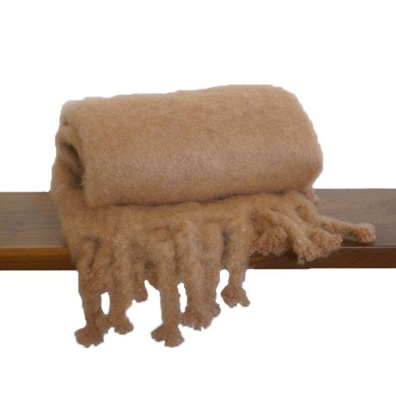 """<a rel=""""nofollow noopener"""" href=""""http://www.clic.com/throws/handwoven-mohair-blanket-camel"""" target=""""_blank"""" data-ylk=""""slk:Handwoven Mohair Blanket Camel, Clic, $595""""As the weather turns cooler, we like adding layers to the home, as you do your wardrobe. A great way to transition into fall is by adding more plush and cozy throws to sofas and chairs—they add softness and also are a way to add a color accent. We love the mohair throws from Clic. They come in a ton of shades so you can add a pop of color or layer a neutral palette. They are a thick mohair, so you feel like you are wrapped in a sweater which makes the space feel more fall. """""""" class=""""link rapid-noclick-resp"""">Handwoven Mohair Blanket Camel, Clic, $595<p>""""As the weather turns cooler, we like adding layers to the home, as you do your wardrobe. A great way to transition into fall is by adding more plush and cozy throws to sofas and chairs—they add softness and also are a way to add a color accent. We love the mohair throws from Clic. They come in a ton of shades so you can add a pop of color or layer a neutral palette. They are a thick mohair, so you feel like you are wrapped in a sweater which makes the space feel more fall. """"</p> </a>"""