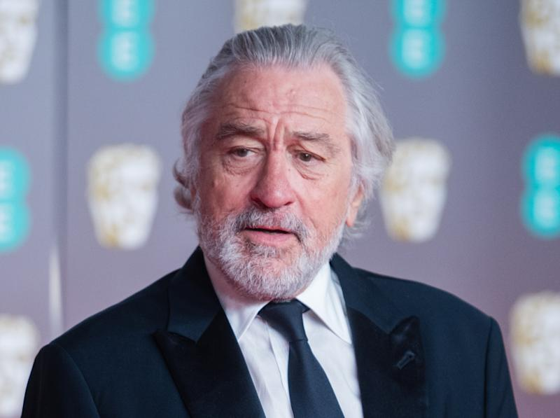 LONDON, ENGLAND - FEBRUARY 02: Robert De Niro attends the EE British Academy Film Awards 2020 at Royal Albert Hall on February 02, 2020 in London, England. (Photo by Samir Hussein/WireImage)