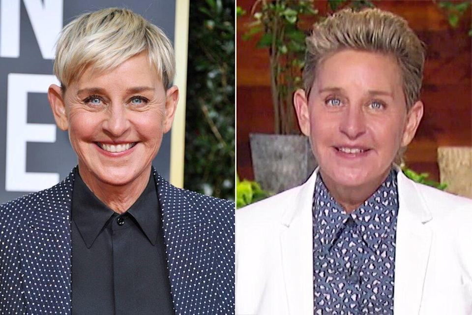 Ellen DeGeneres Debuts New Look on Talk Show