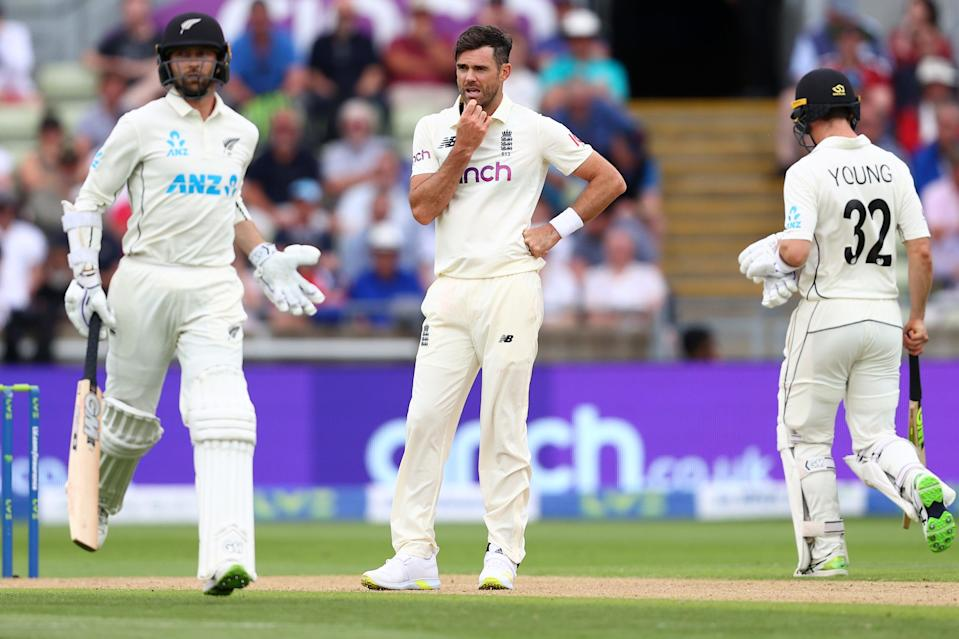 Devon Conway and Will Young made life hard for Jimmy Anderson (Getty Images)