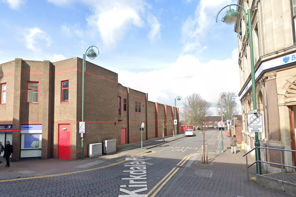 The victim was attacked in Kirkdale Road (Google Maps)