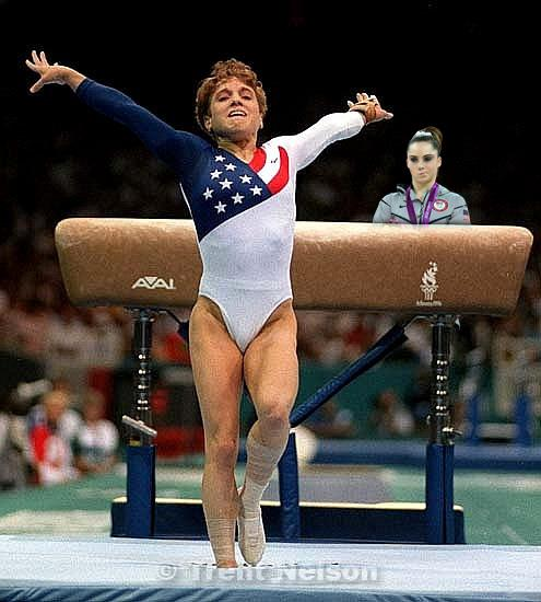 McKayla Maroney is not impressed with Kerri Strug.