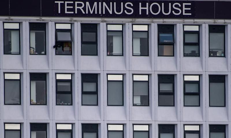 Terminus House, in Harlow, Essex.