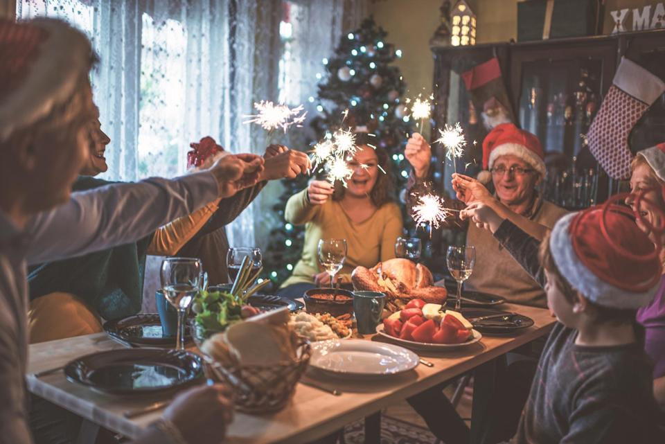 It's never too early to start daydreaming about Christmas dinner, right? [Photo: Getty]
