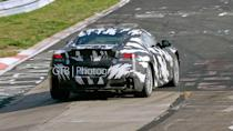 """<p>Super GT rules called for the race car to be based on a production model, which the NSX technically wasn't. However, there were some exceptions to the rule, with one of them being the use of a production-ready car even if that model wasn't actually in production. In November 2016, the <a href=""""https://www.motor1.com/news/127622/acura-nsx-gt-super-gt/"""" rel=""""nofollow noopener"""" target=""""_blank"""" data-ylk=""""slk:NSX-GT"""" class=""""link rapid-noclick-resp"""">NSX-GT</a> was revealed as the HSV-010 GT's successor and was based on the current NSX.</p>"""