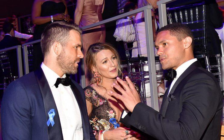 Blake Lively and Ryan Reynolds at Time 100 Gala.