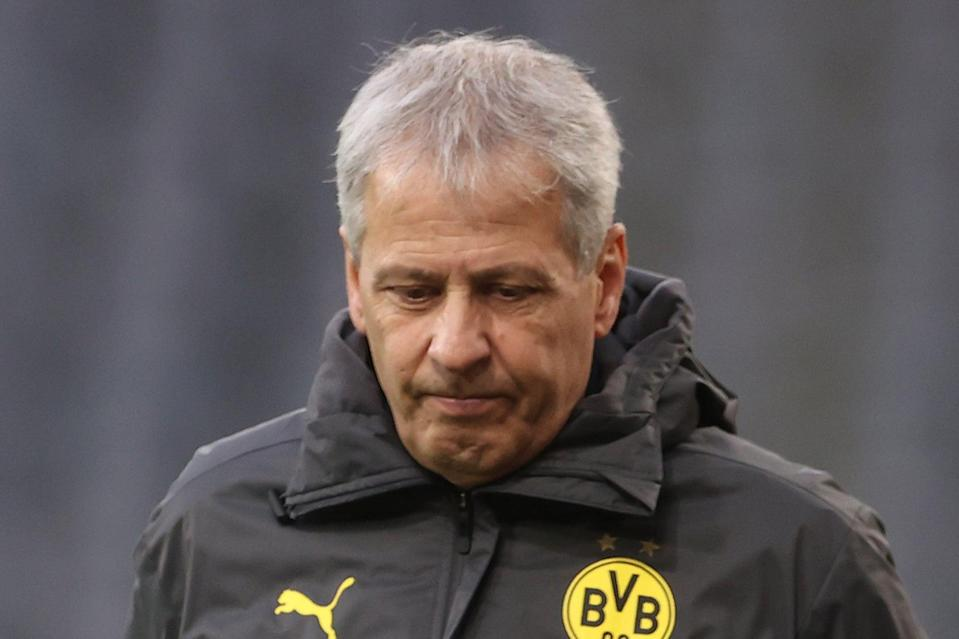 Lucien Favre had been expected to sign a three-year contract at Crystal Palace (Getty Images)