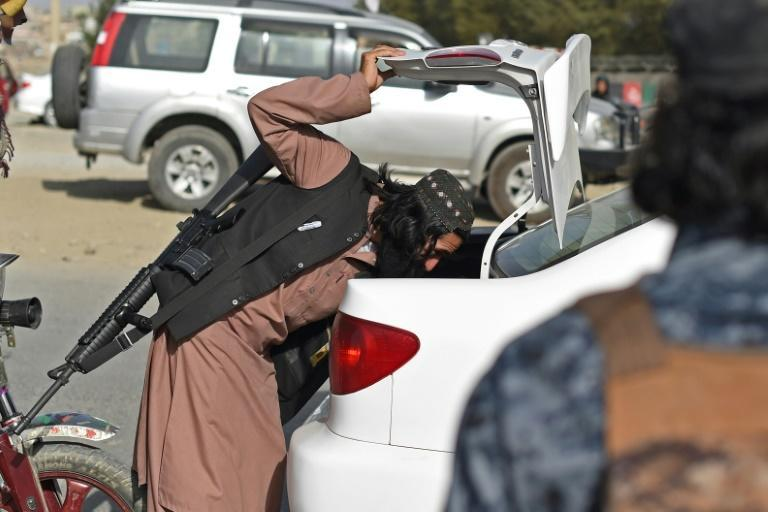 The Taliban have vowed to maintain law and order, and are building up their new police force (AFP/WAKIL KOHSAR)