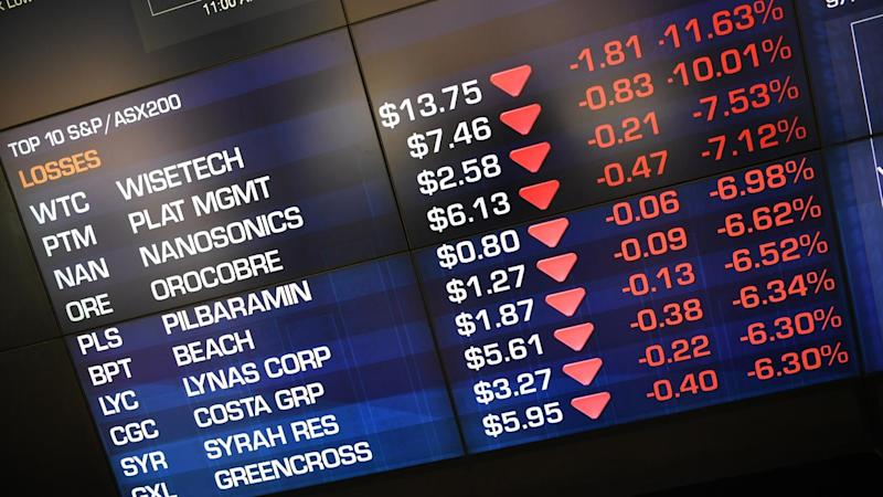 Australian shares have suffered their second worst day of the year