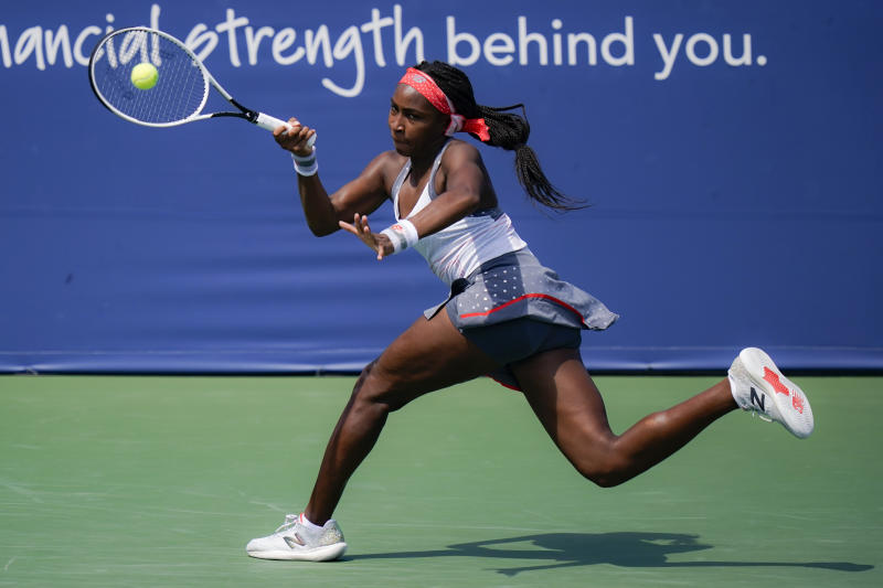 Grand Slam bubble bursts for US teen Gauff