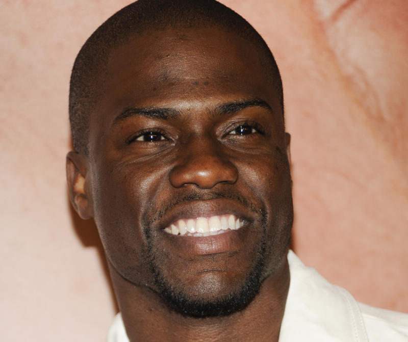 In an April 18, 2012   photo actor Kevin Hart attends the Tribeca Film Festival  in New York.  Hart has been added to the main stage lineup for the 2012 Essence Music Festival in New Orleans.(AP Photo/Evan Agostini)