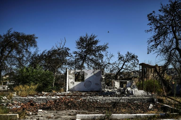 Although some local people have received some compensation, permits to clear them to rebuild have been slower in coming
