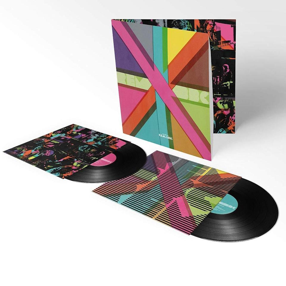 <p>This nine-disc set boasts rare and unreleased live and studio recordings culled from the BBC, as well as the pioneering Athens, Ga., college rock band's own archives. It'll make a shiny, happy present for the R.E.M. obsessive in your life. </p>