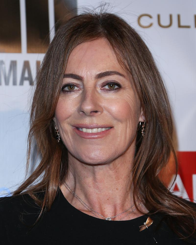 BEVERLY HILLS, CA - FEBRUARY 20: Producer / Director Kathryn Bigelow attends TheWrap 4th annual Pre-Oscar Party at the Four Seasons Hotel Los Angeles at Beverly Hills on February 20, 2013 in Beverly Hills, California. (Photo by Paul Archuleta/FilmMagic)