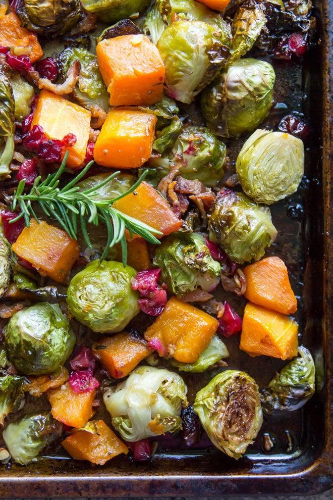 "<p>For a side dish that will steal the show, these harvest vegetables are what you're looking for. Flavorful and healthy make the perfect combination.</p> <p><b>Get the recipe</b>: <a href=""http://www.culinaryhill.com/rosemary-roasted-vegetables/"" class=""link rapid-noclick-resp"" rel=""nofollow noopener"" target=""_blank"" data-ylk=""slk:harvest roasted vegetables"">harvest roasted vegetables</a></p>"