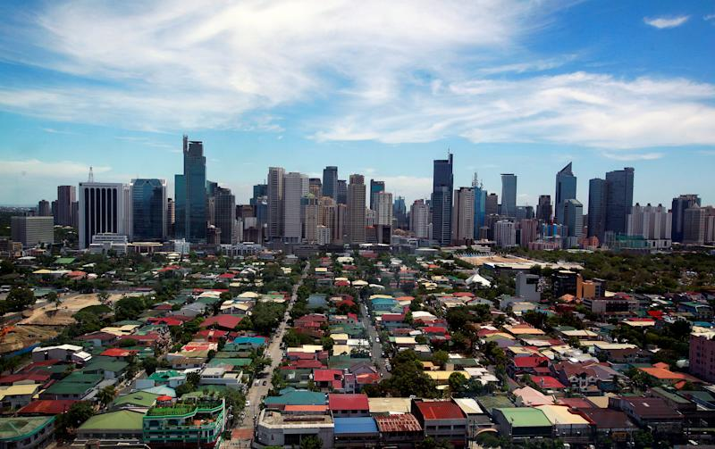 File Photo: A general view of the skyline from the Makati City Hall in Manila, Philippines, May 11, 2010. (REUTERS/Nicky Loh)