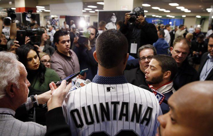 Jose Quintana's record over the last five seasons hasn't equaled his talent. (AP)