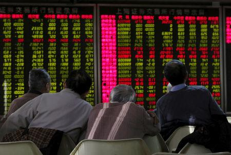 Southeast Asia stocks fall ahead of Powell speech