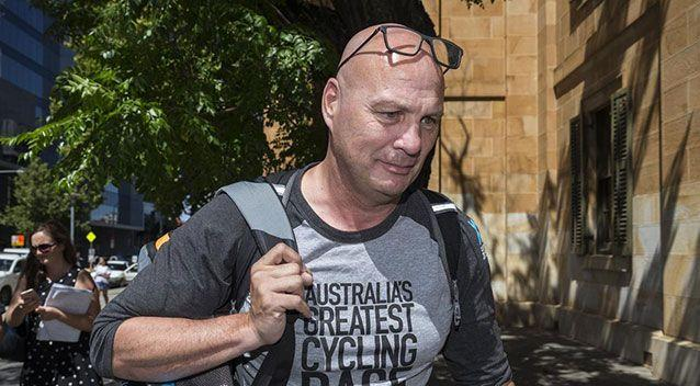 Wouter Roosenboom appeared in Adelaide Magistrates Court on Monday and pleaded guilty to driving without due care. Source: AAP