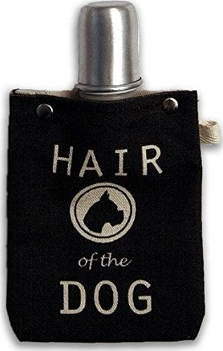 <p>This four-ounce <span>Hair of the Dog Flask</span> ($17) is made of canvas.</p>