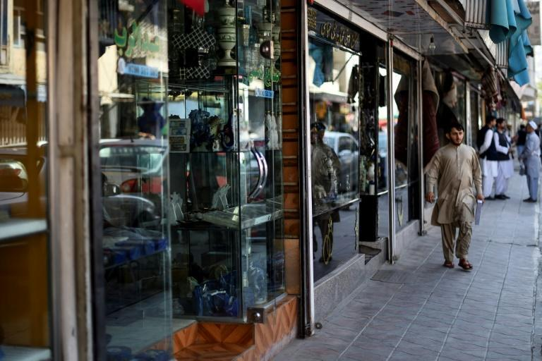 Many customers, such as NGO staff and diplomats, were evacuated by the end of August, after the Taliban stormed to power in the weeks before (AFP/WAKIL KOHSAR)