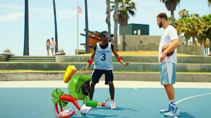Blake Griffin has already worked with Marvin the Martian. Could the rest of the Looney Tunes be next?