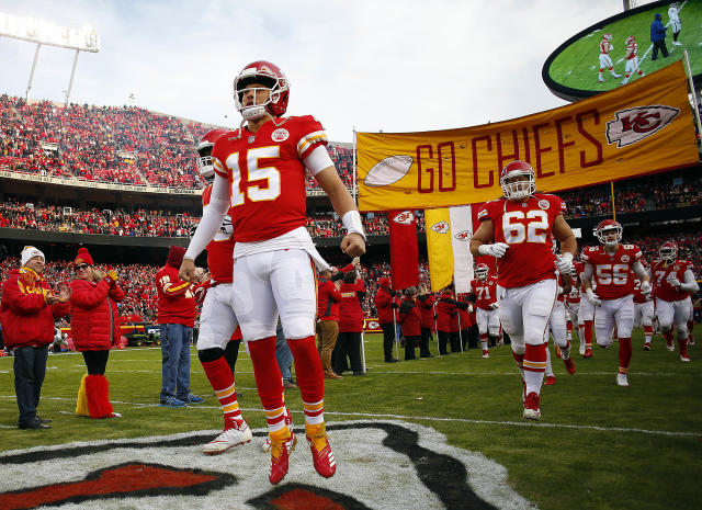 Will Patrick Mahomes and the Chiefs offense have enough to overcome their poor defense in the playoffs? (Getty)