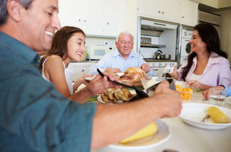 According to a new poll, just one in five adults regularly sit down to a Sunday dinner each weekend.