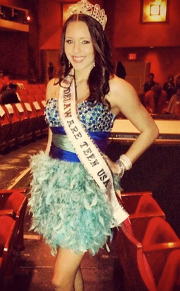 "<b>Melissa King, Miss Delaware Teen USA 2012</b><br>Miss Delaware Teen USA turned in her crown on February 26 after a graphic sex tape reportedly starring her and an unidentified man surfaced on a porn website. Although the 18-year-old insists the woman in the June 2012 video is ""absolutely not"" her (despite the fact that she talks about competing in pageants in it), King did relinquish her title nonetheless. Miss Universe head honcho Donald Trump said on February 27 that his organization did advise King to prepare a resignation letter ""very quickly"" because ""it was nicer"" than firing her."