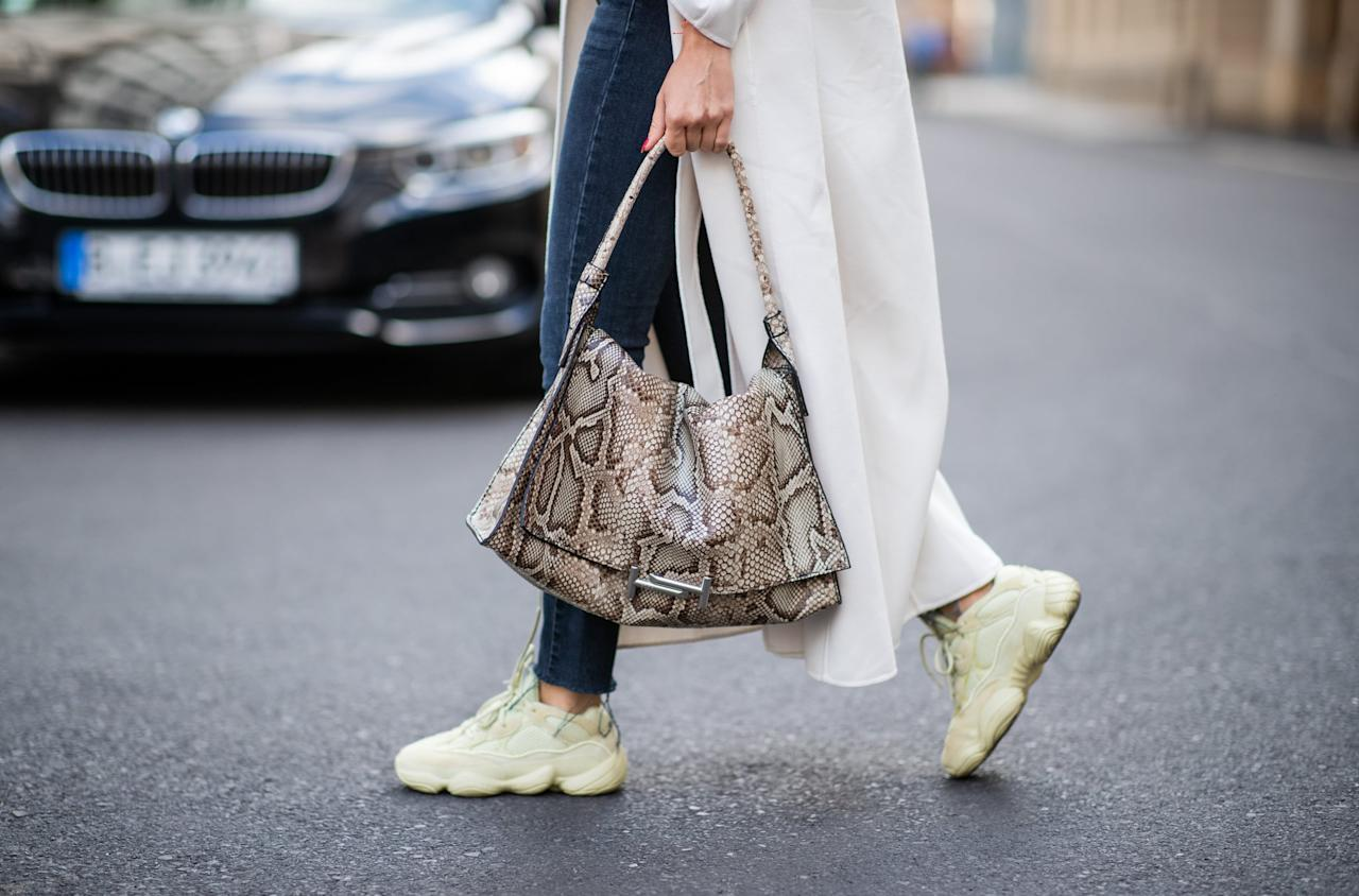 <p>If you're looking for a trend that's out of this world (or at least this decade), futuristic sneakers are for you. Think space-age silhouettes including sleek cutouts.</p>