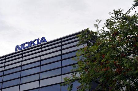 Headquarters of Finnish telecommunication network company Nokia are pictured in Espoo