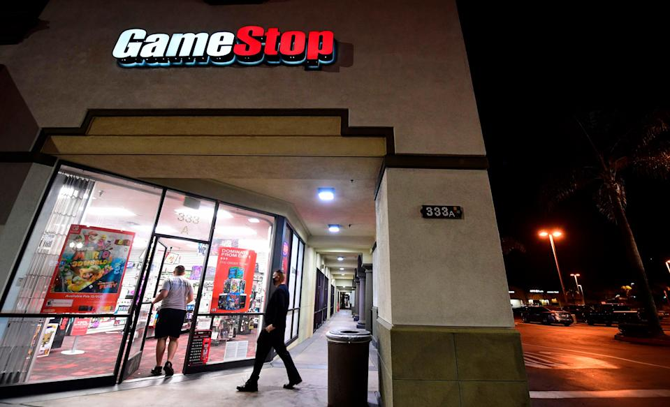 <p>A new breed of investor has been drawn to shares like GameStop</p> (AFP via Getty Images)