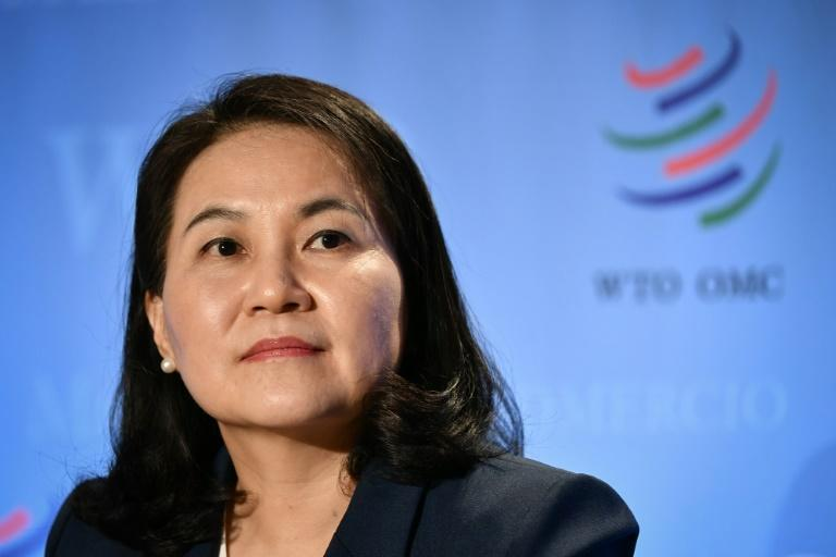 South Korean Trade Minister Yoo Myung-hee is known at home as a glass-ceiling breaker in a still male-dominated society